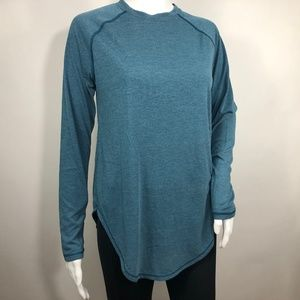Under Armour Open Back Loose Long Sleeve Gym Shirt